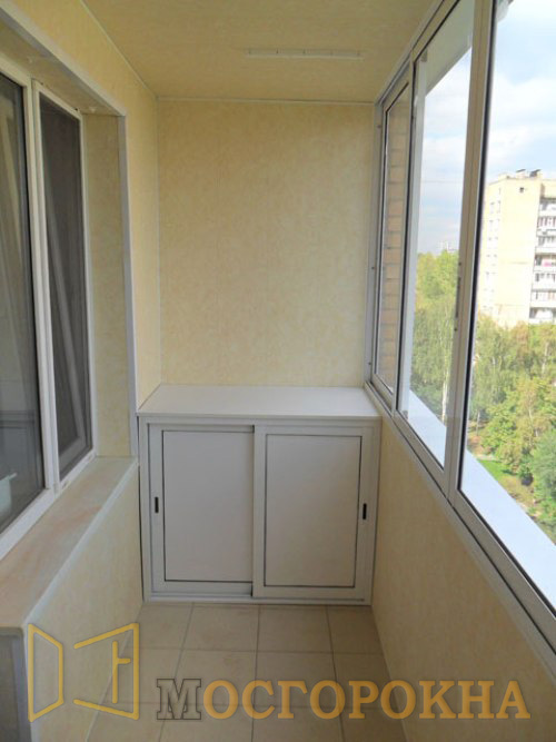 Окна-бутово (495)646-02-81 - внутренняя отделка балконов.